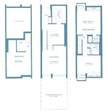 split level floor plan carrollsburg a condominium floor plans