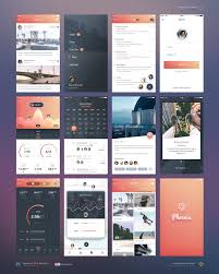 74 best free ui kits images on pinterest templates bold fonts