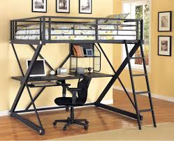 loft beds loft bed queen modern size frame beds with desk