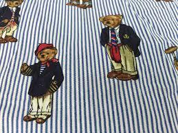 Ralph Lauren Sheet Set Polo Ralph Lauren Queen Sheet Set Teddy Bear Flat Fitted And