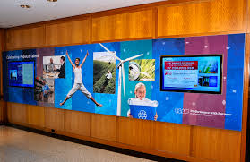 lobby display 9012 jpg employee communications digital and graphic wall