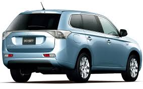 mitsubishi jeep 2015 mitsubishi previews outlander phev at new york truck trend news