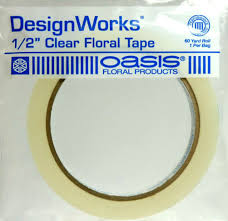 Floral Tape Clear Floral Tape 1 2in X 60 Yard