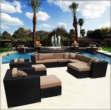 Black Resin Patio Furniture Patio Interesting Outdoor Sectional Patio Furniture Outdoor