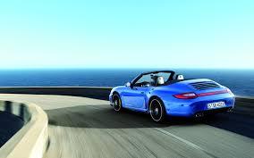blue porsche 911 aqua blue porsche 911 carrera 4 gts cabriolet eurocar news