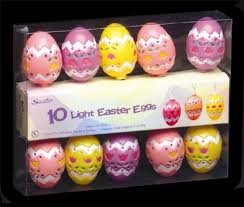 Amazon Outdoor Easter Decorations by Deco Style Easter Egg Light Set Easter Decorations