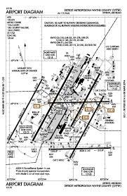 Detroit Airport Terminal Map Detroit Mi U2013 Oep Kdtw Aviation Impact Reform