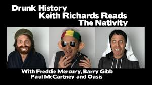 Keith Richards Memes - drunk history keith richards reads the nativity youtube