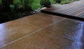 How To Resurface Concrete Patio Stamped Concrete Patio Cost U0026 Designs Concrete Craft