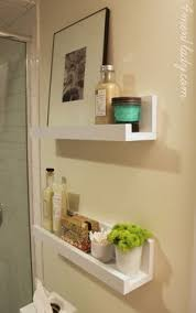 shelf beside the toilet wall to wall instead of behind 1 2 shelf