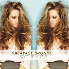 bronde hair home coloring balayage bronde hair color step by step bangstyle
