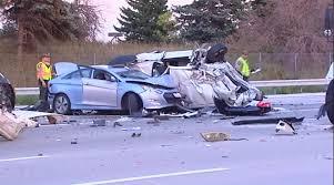 semi 6 cars crash injuring 8 on tri state tollway near gurnee