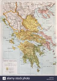 Ancient Map Of Greece by Ancient Greece Map Stock Photos U0026 Ancient Greece Map Stock Images