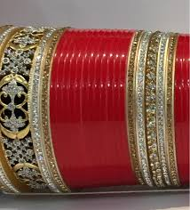 indian wedding chura bridal chura set