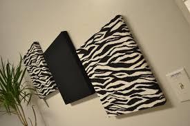 wall decor zebra home design zebra wall decor canvas wall hangings black white by madmosaics