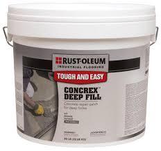 Floor Repair Kit Rust Oleum Industrial Flooring Concrex Deep Fill Concrete Repair