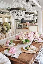 farmhouse hydrangea centerpiece liz marie blog