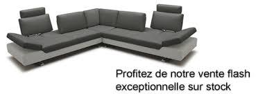 canapé d angle en cuir design canapé d angle design