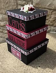 graduation card box custom graduation card box 3 tier card holder square