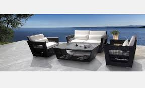 black outdoor patio furniture