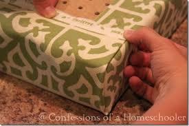 no sew bench cushion cover using peg board diy ideas