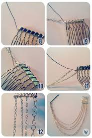 diy necklace chains images The beauty department your daily dose of pretty diy hair necklace jpg