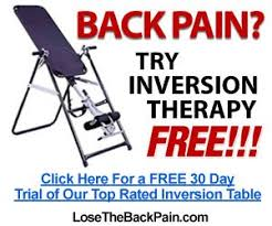 inversion table for bulging disc can an inversion table relieve your back pain