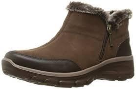 skechers womens boots canada amazon com skechers s easy going zip it ankle bootie shoes