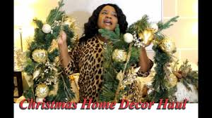 home decor giveaway christmas home decor haul plus giveaway prize 1 day only youtube
