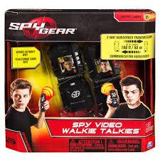 amazon com spy gear video walkietalkies toys u0026 games