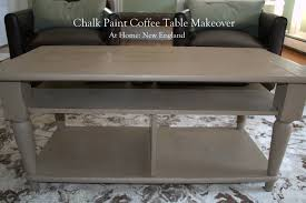 chalk paint coffee table chalk paint coffee table makeover at home new england