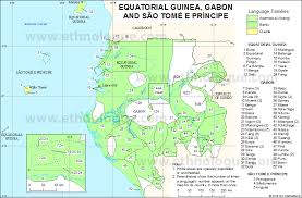 map of sao tome equatorial guinea gabon and são tomé e príncipe ethnologue