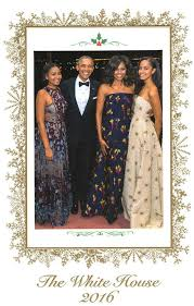 obama s day card president barack obama and obama reveal their family s