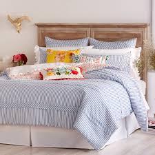 Echo Jaipur Comforter Ticking Stripe Comforter By The Pioneer Woman Hayneedle