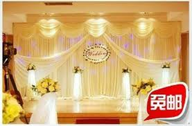 wedding backdrop online online shop wedding stage decoration wedding backdrops 3x6 meters