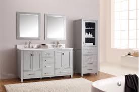 Benjamin Moore Gray Cabinets Bathroom Cabinets Painted In U0027boothbay Gray U0027 From Benjamin Moore