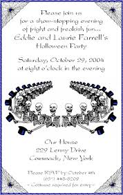 halloween invitation verses southernsoulblog com