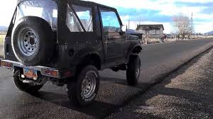 jeep suzuki samurai for sale suzuki samurai v6 4 3l youtube