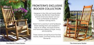 Outdoor Furniture Rocking Chair by Outdoor Rocking Chairs The World U0027s Finest Rocking Chair