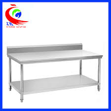 Commercial Prep Table Rolling Stainless Steel Work Table Commercial Kitchen Prep Tables
