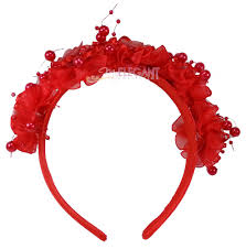 hair bands for rosettes children kids wedding flower bridesmaids hair
