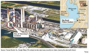 Map Of Tampa Bay Everything We Know Fatal Accident At Teco Plant Tampa Bay Times