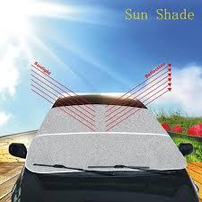 lexus brand sunshade car front window sun shade visor windshield snow frost summer