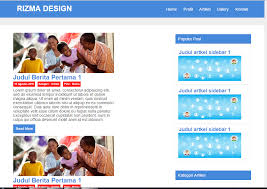 contoh web design dengan html download template web design sederhana html css lapakcode