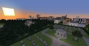 City Maps For Minecraft Pe Lormierville A Modern City