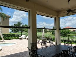 Motorized Screens For Patios Phantom Motorized Patio Screens Gallery New Horizons Go