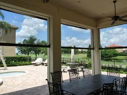 phantom motorized patio screens gallery new horizons go