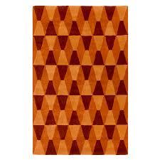 Orange Modern Rug by Orange Modern Rug Roselawnlutheran