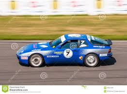 old racing porsche porsche 944 turbo cup race car editorial image image 43527945