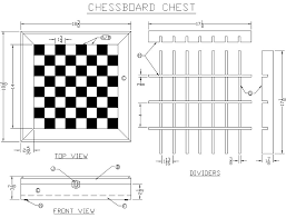Free Wood Project Designs by Build A Chessboard Chest From Lee U0027s Wood Projects Free